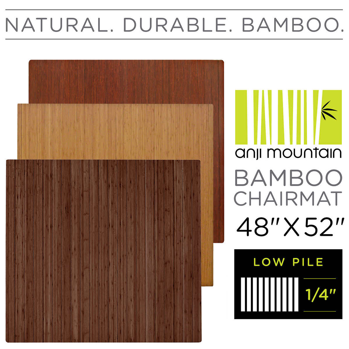 Hardwood Floor Chair Mat large size of flooringchair mat for hardwood floor amazon com anji mountain amb24008 bamboo Anji Mountain Bamboo Chair Mat Low Pilehard Floors 48 X 52