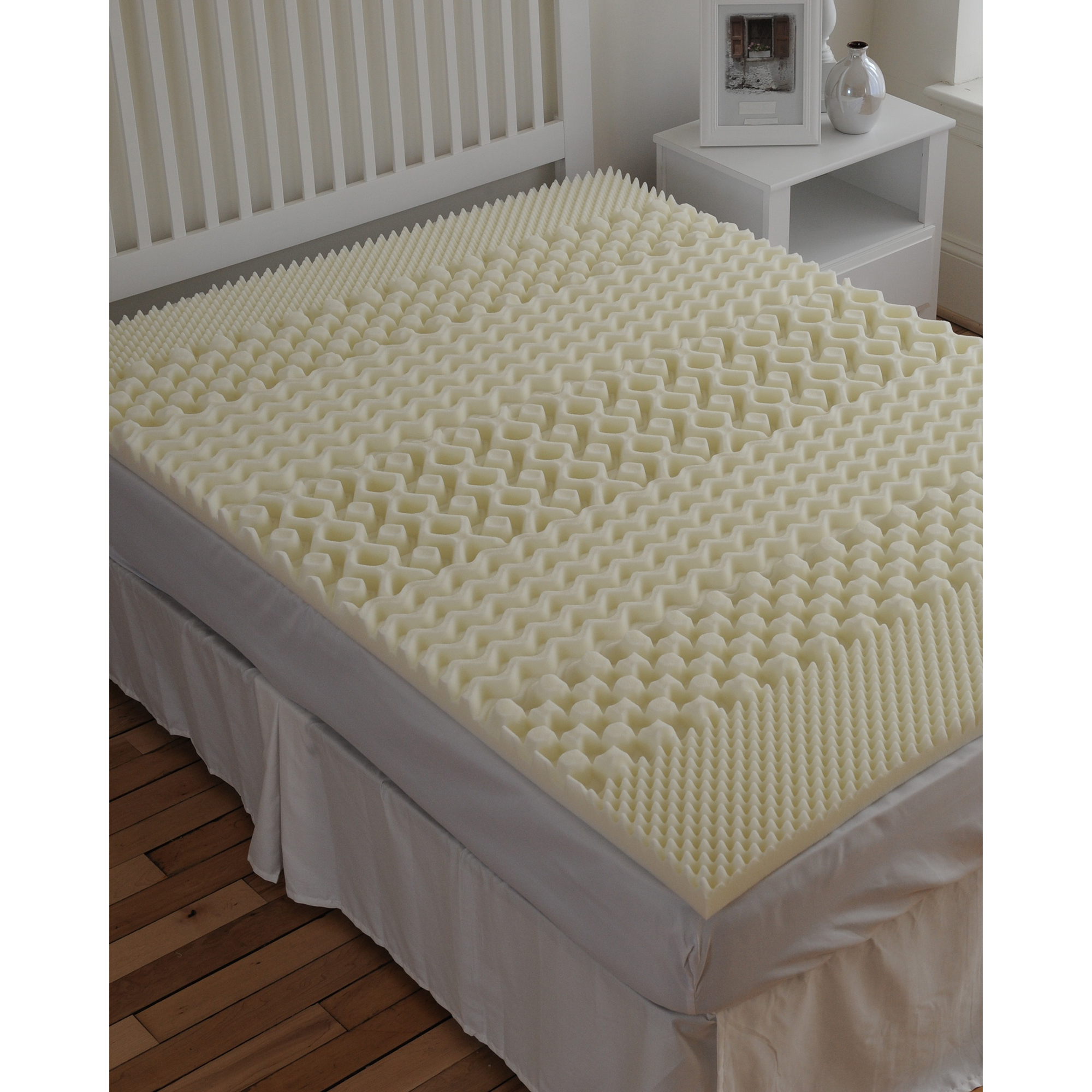 Sleepbetter isotonic 7 zone 2 memory foam mattress topper twin ebay Memory foam mattress topper twin