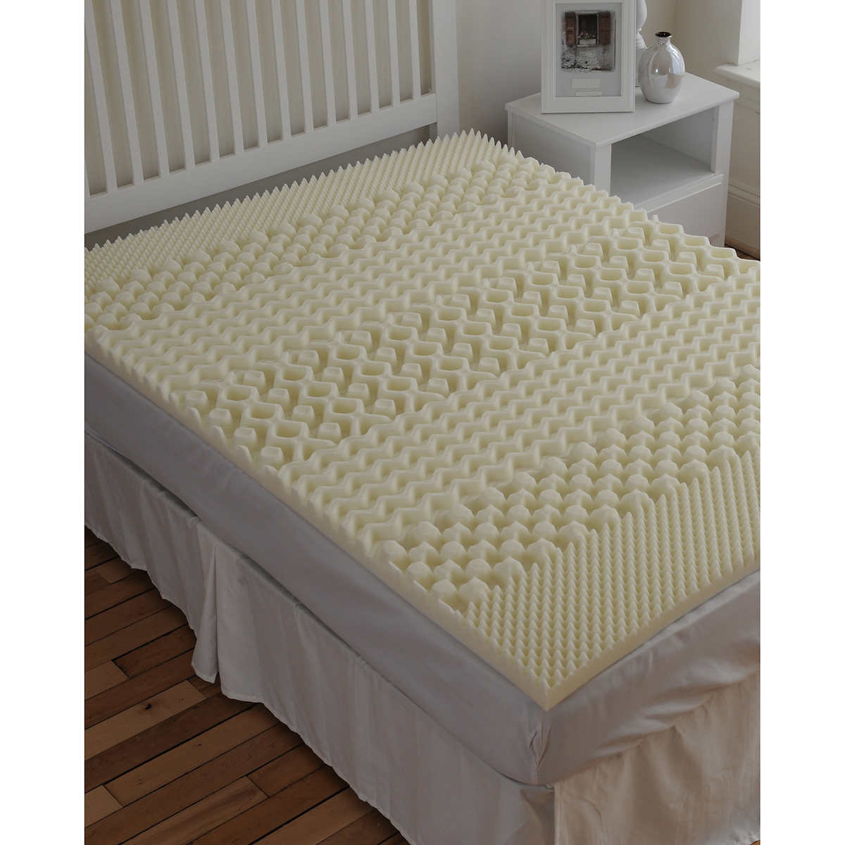 Sleepbetter Isotonic 7 Zone 2 Memory Foam Mattress Topper