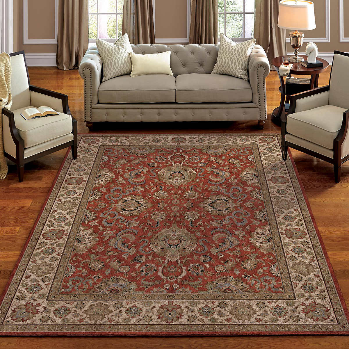 Soft Impressions 100 Olefin Pile Rug Collection