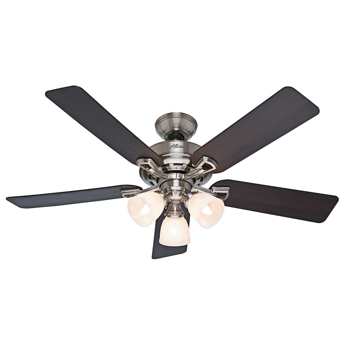 """hunter """" light ceiling fan with remote -  light ceiling fan with remote click to zoom"""