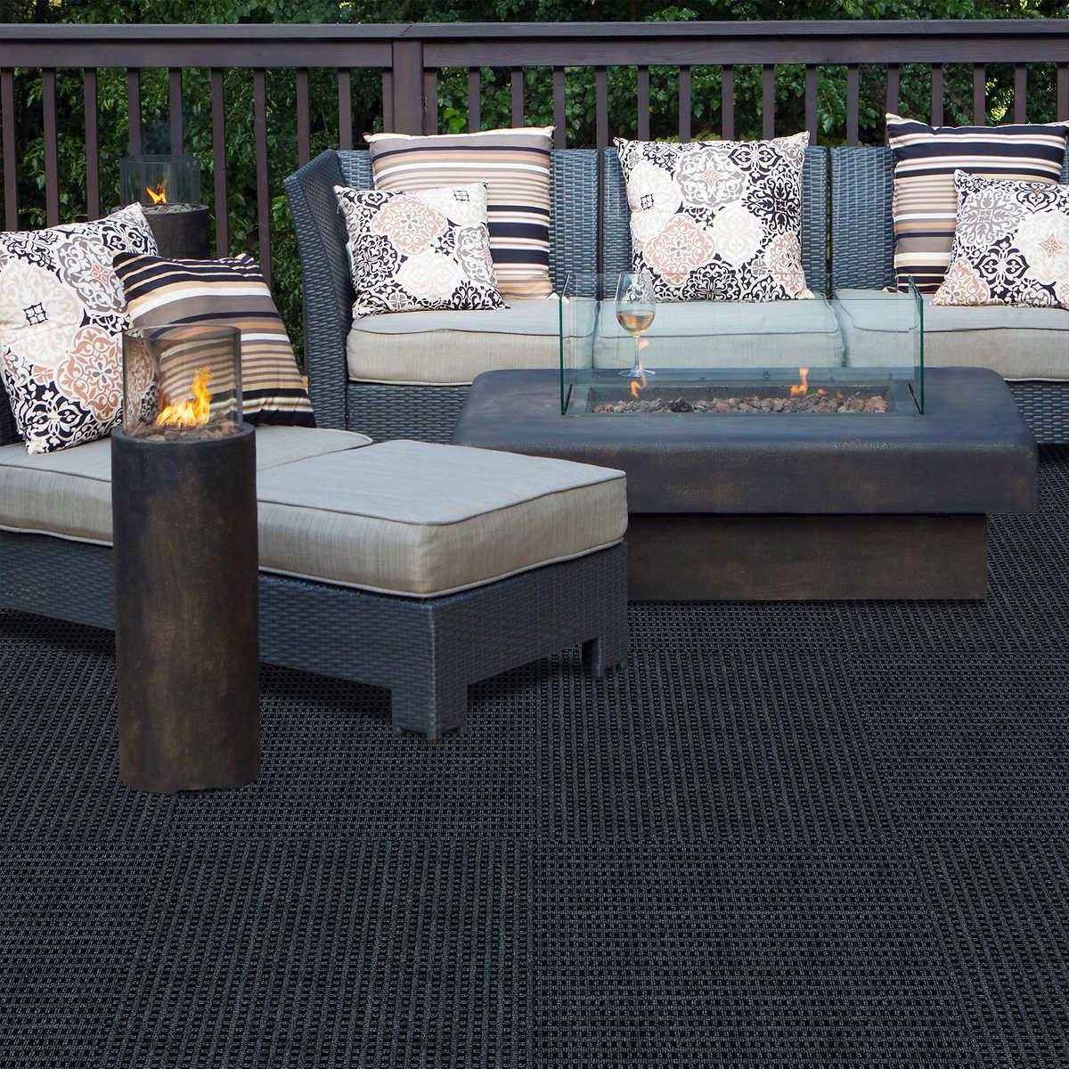 Mosaic multi purpose 24 x 24 adhesive carpet tiles indoor tiles indoor outdoor use 1 1 dailygadgetfo Images