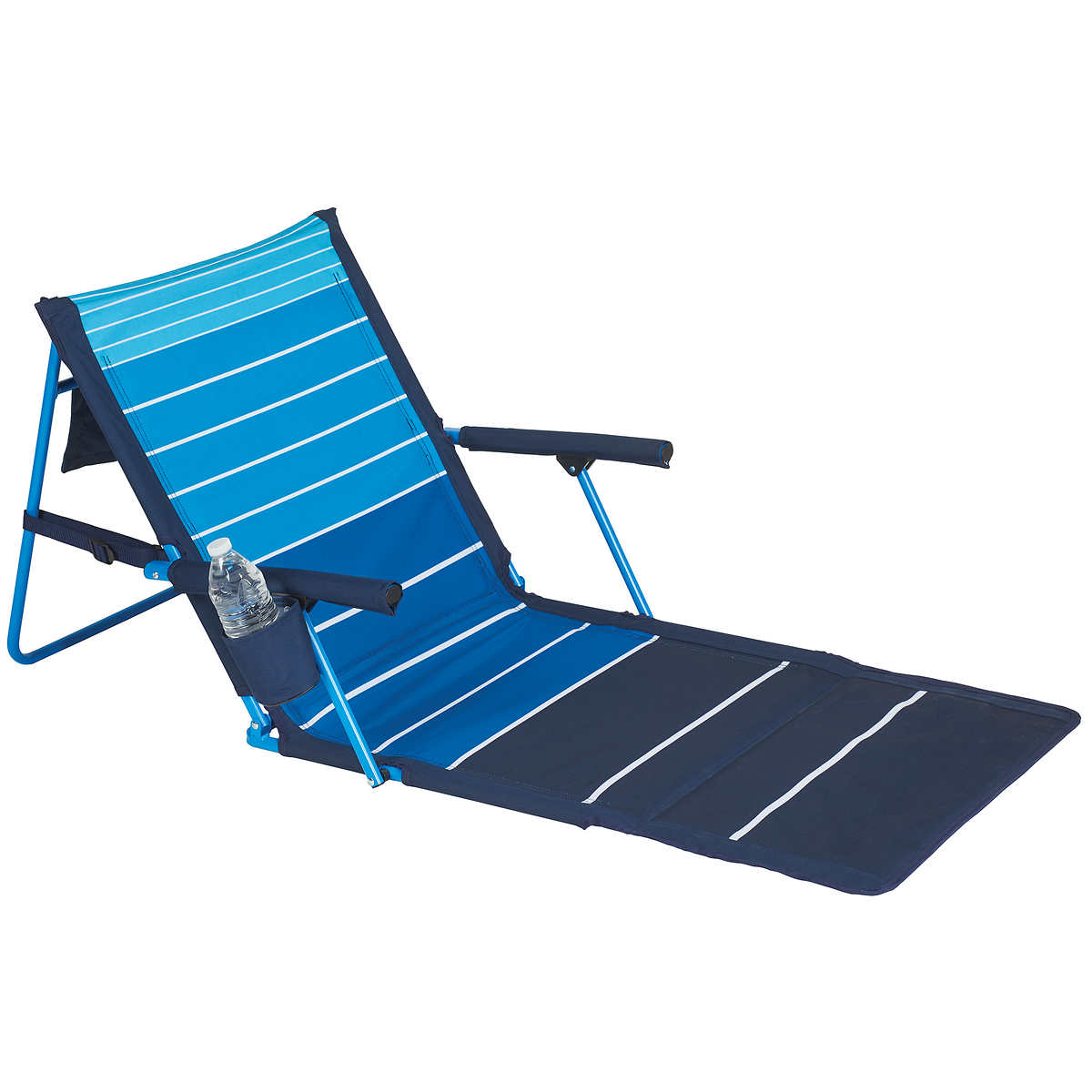 Beach lounge chair with canopy - Lightspeed Outdoors Deluxe Lounger