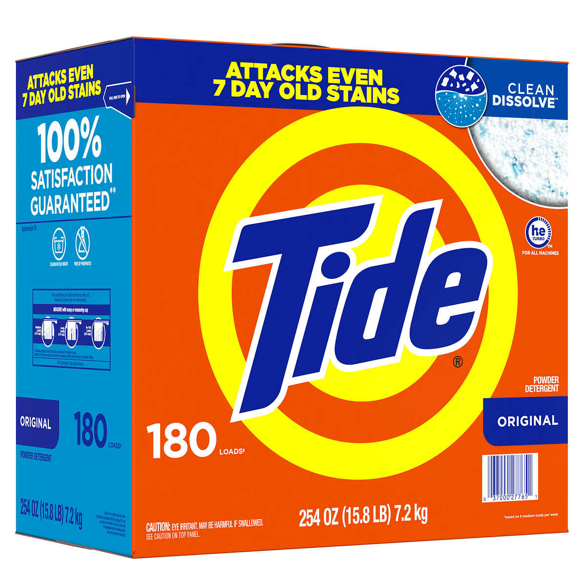 Is arm and hammer powder laundry detergent he - Tide Powder He 180 Loads