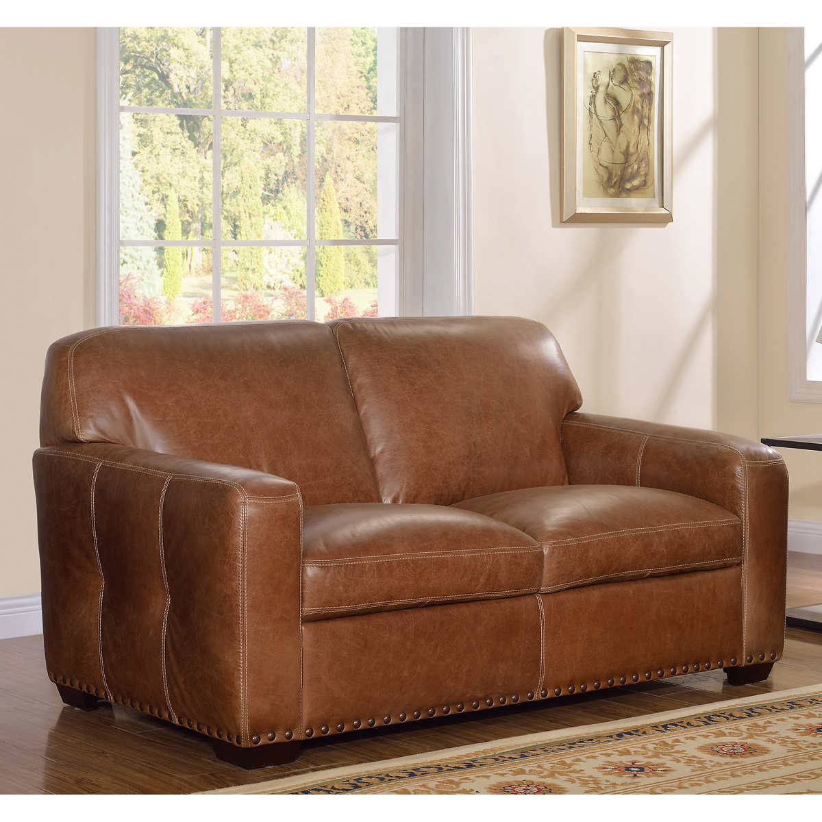 Tan Leather Living Room Set Leather Sofas Sectionals