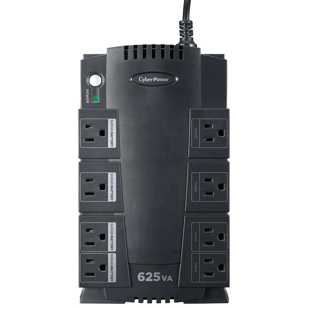 CyberPower 625VA/375Watts UPS Battery Backup with Surge Protection