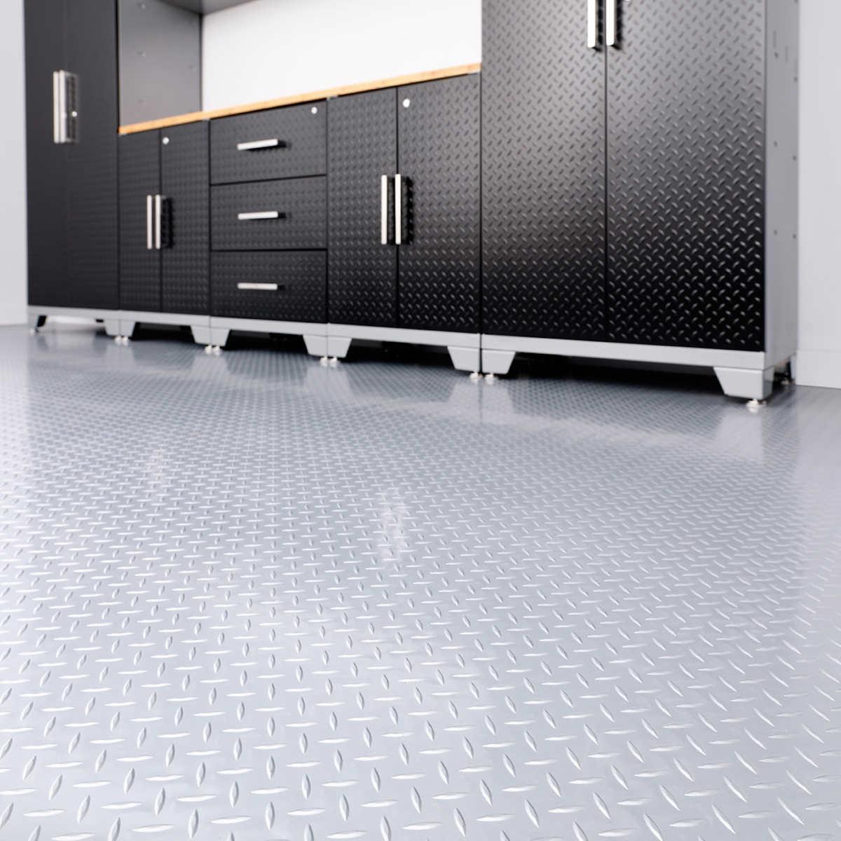 Newage 8 x 20 versaroll garage flooring versaroll garage flooring item 1080329 click to zoom dailygadgetfo Gallery