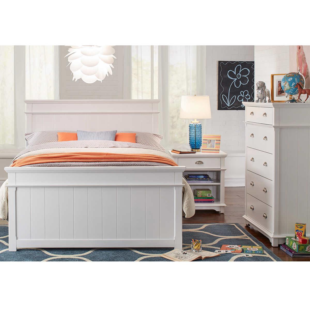 Annette 3 piece Full Bedroom Set. Twin Bedroom Sets