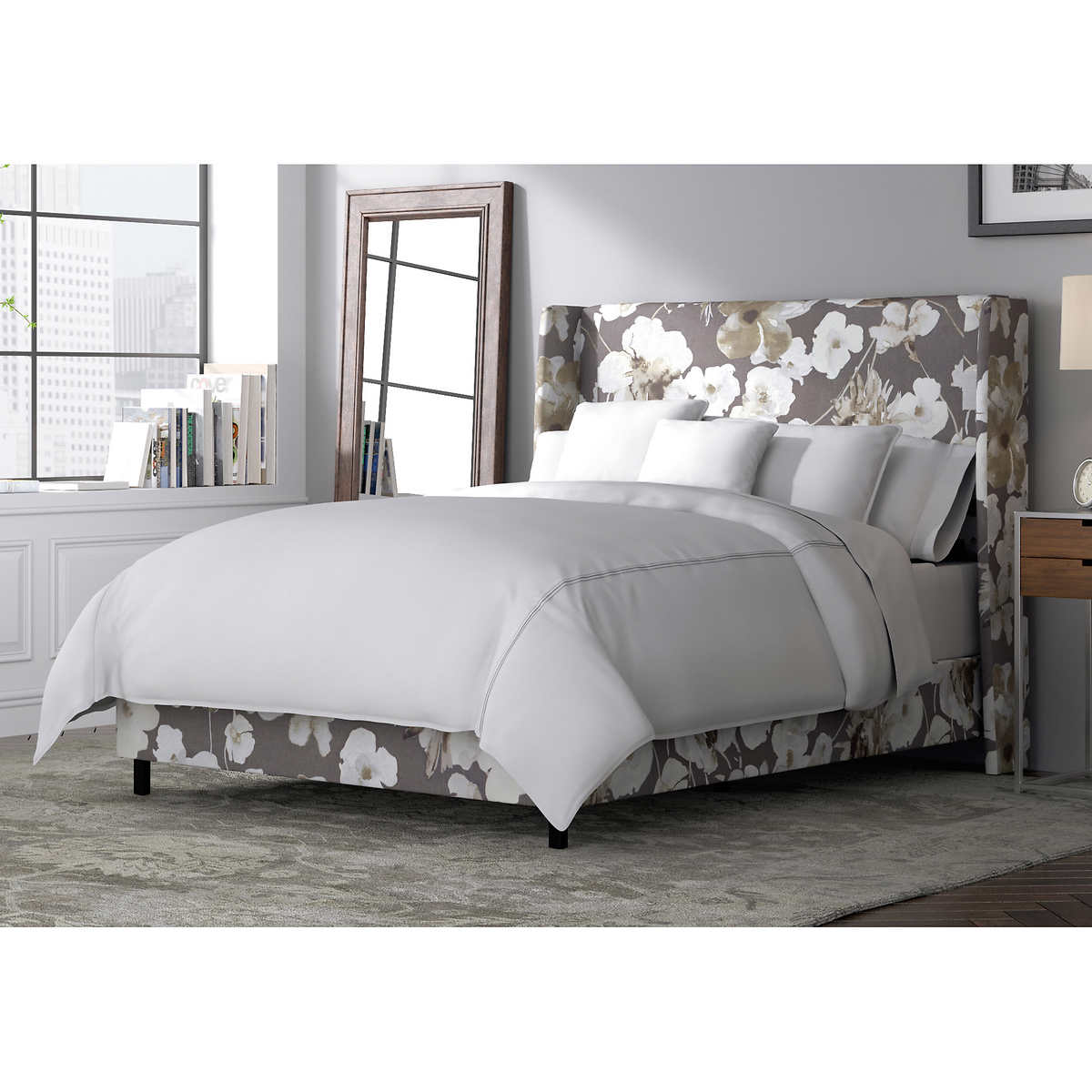 adagio upholstered king bed