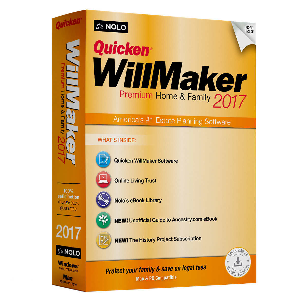 quicken willmaker premium home family  click to zoom