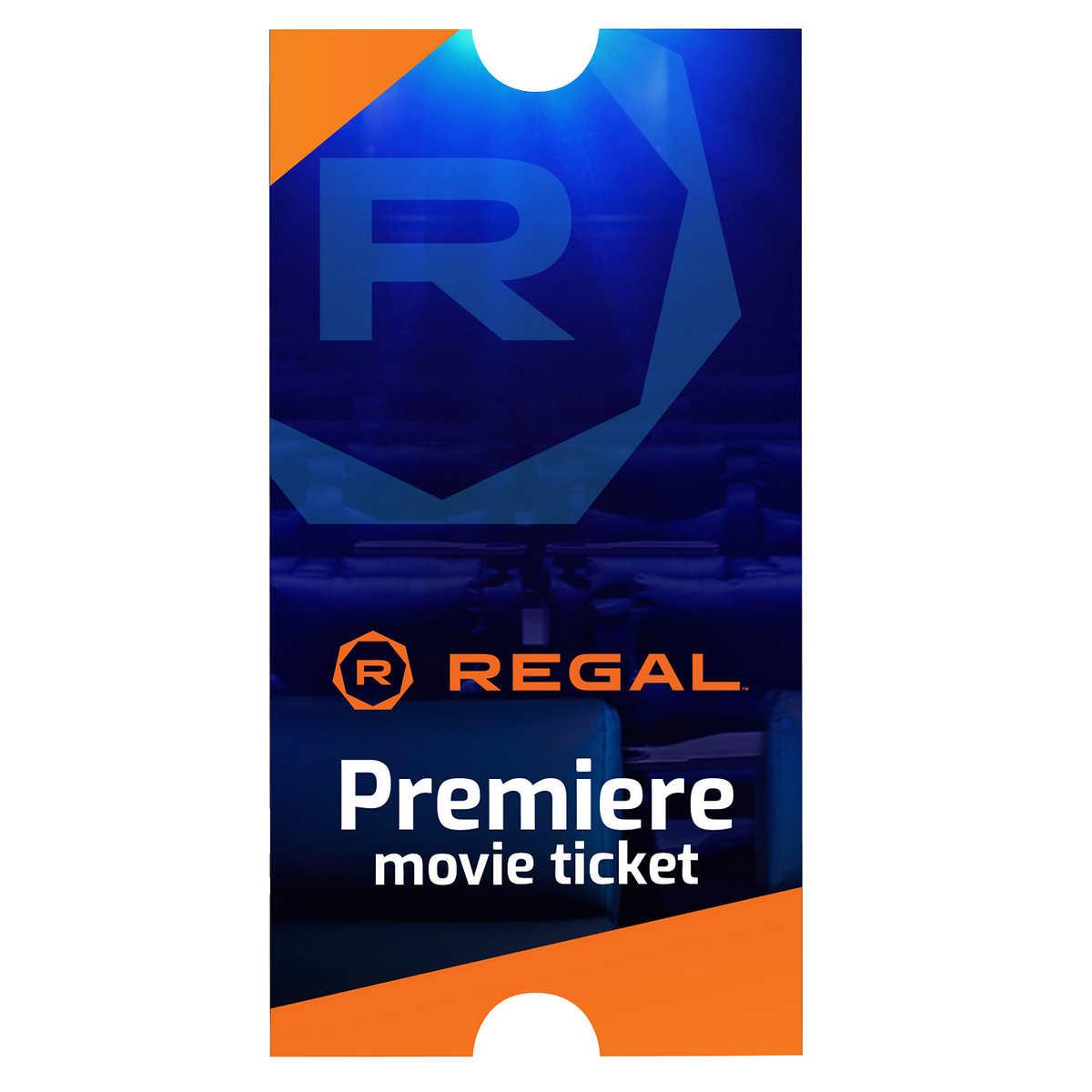 Regal ePremiere Movie eTickets, 4-pack