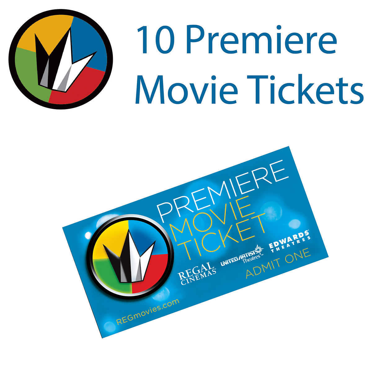 regal entertainment group premiere movie tickets pack regal entertainment group premiere movie tickets 10 pack click to zoom