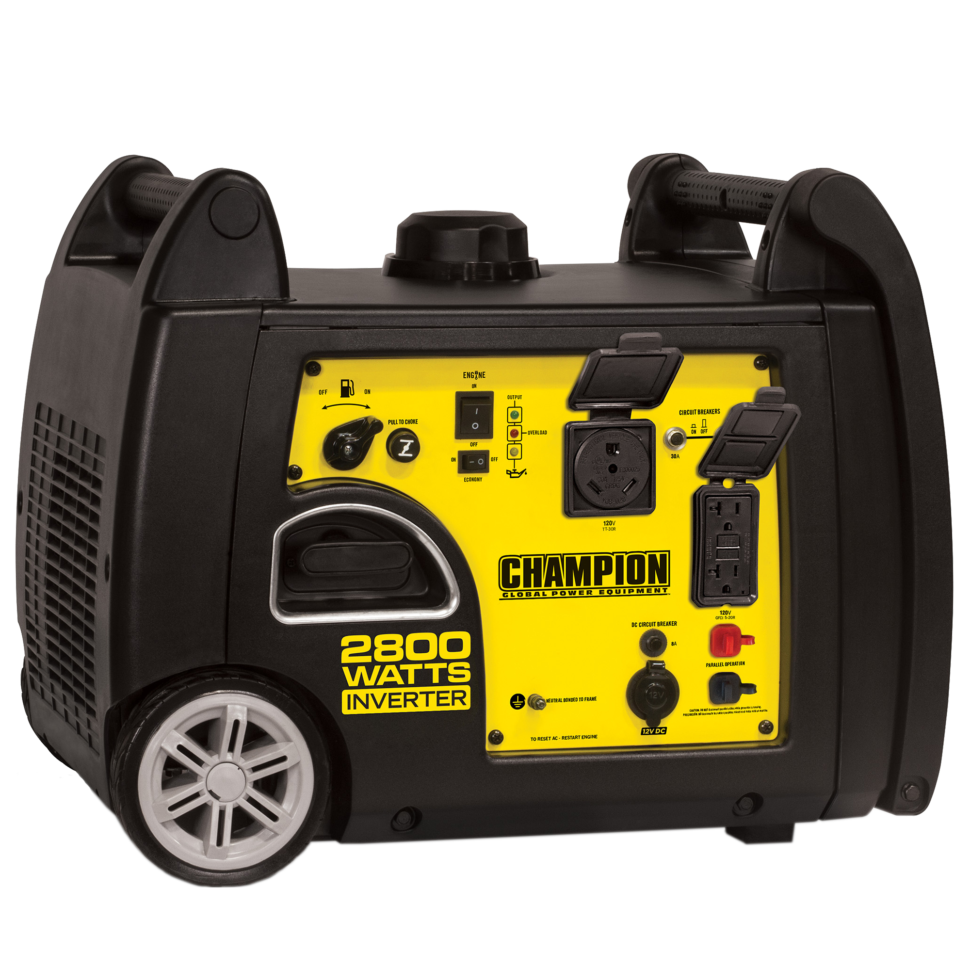 Champion Inverter Generator Costco : Champion wt running peak digital inverter gas
