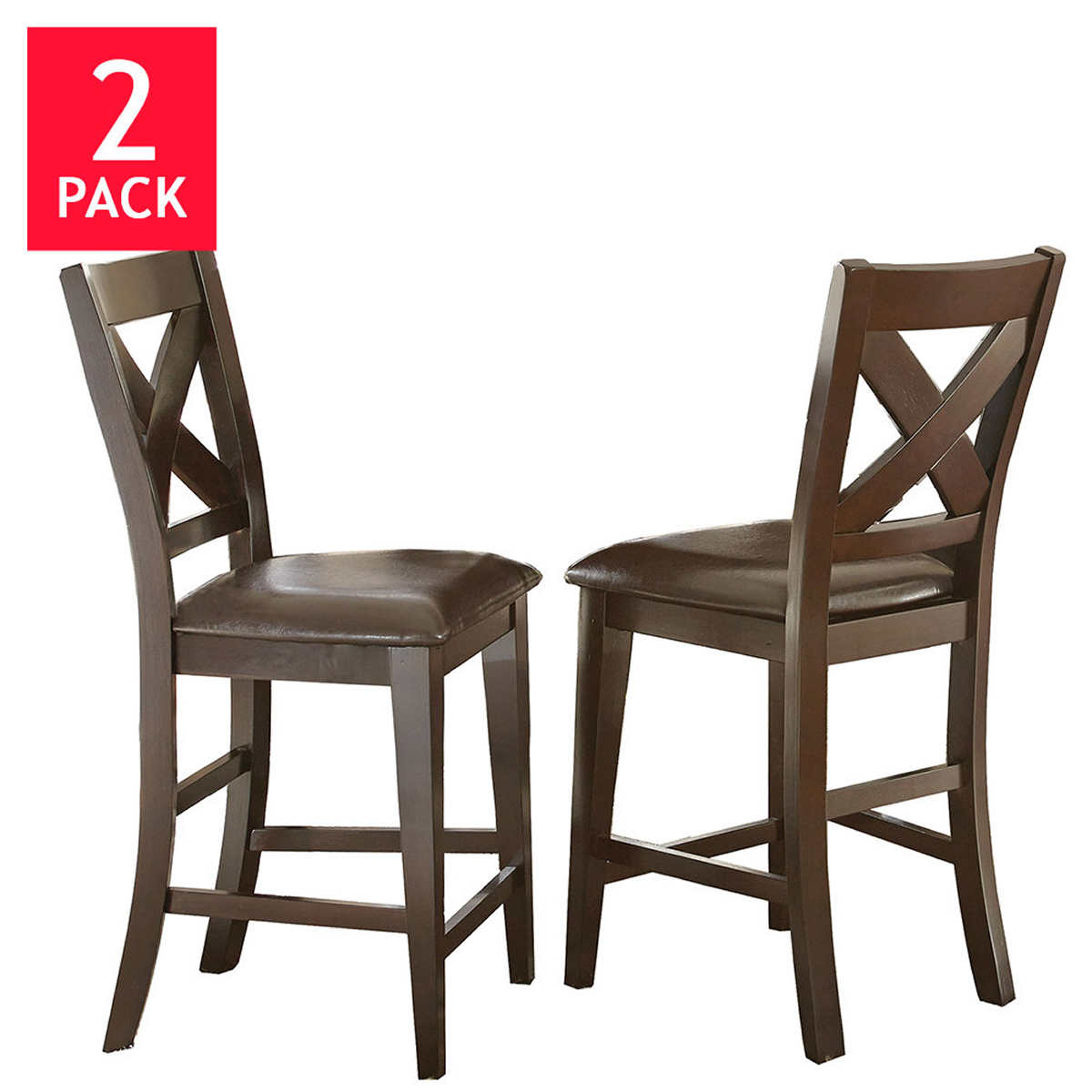 counter height barstools counter height kitchen chairs Reece Counter Height Dining Chair 2 pack