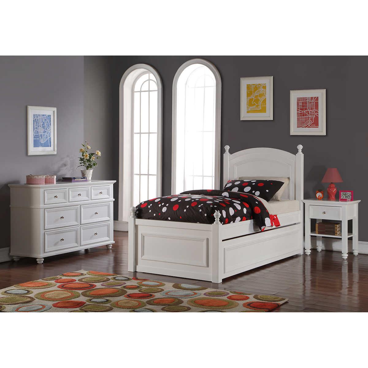Hailey 3 piece Twin Bedroom Set. Twin Bedroom Sets