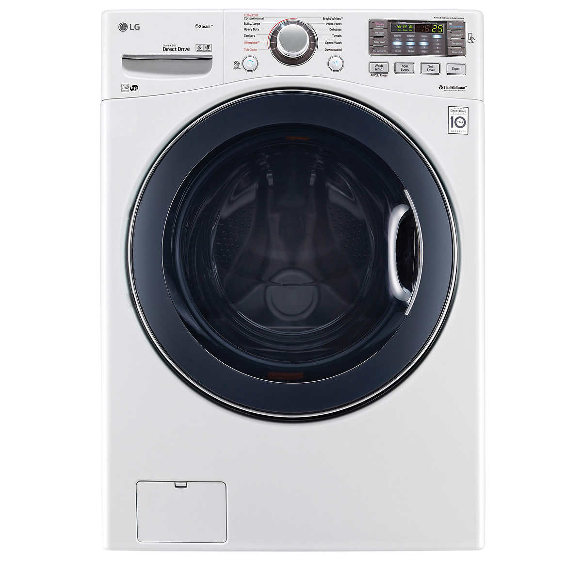 Lg 2 3 cu ft all in one washer and dryer - Member Only Item Lg 4 5cuft Ultra Large Capacity Turbowash Washer In White Wm3770hwa