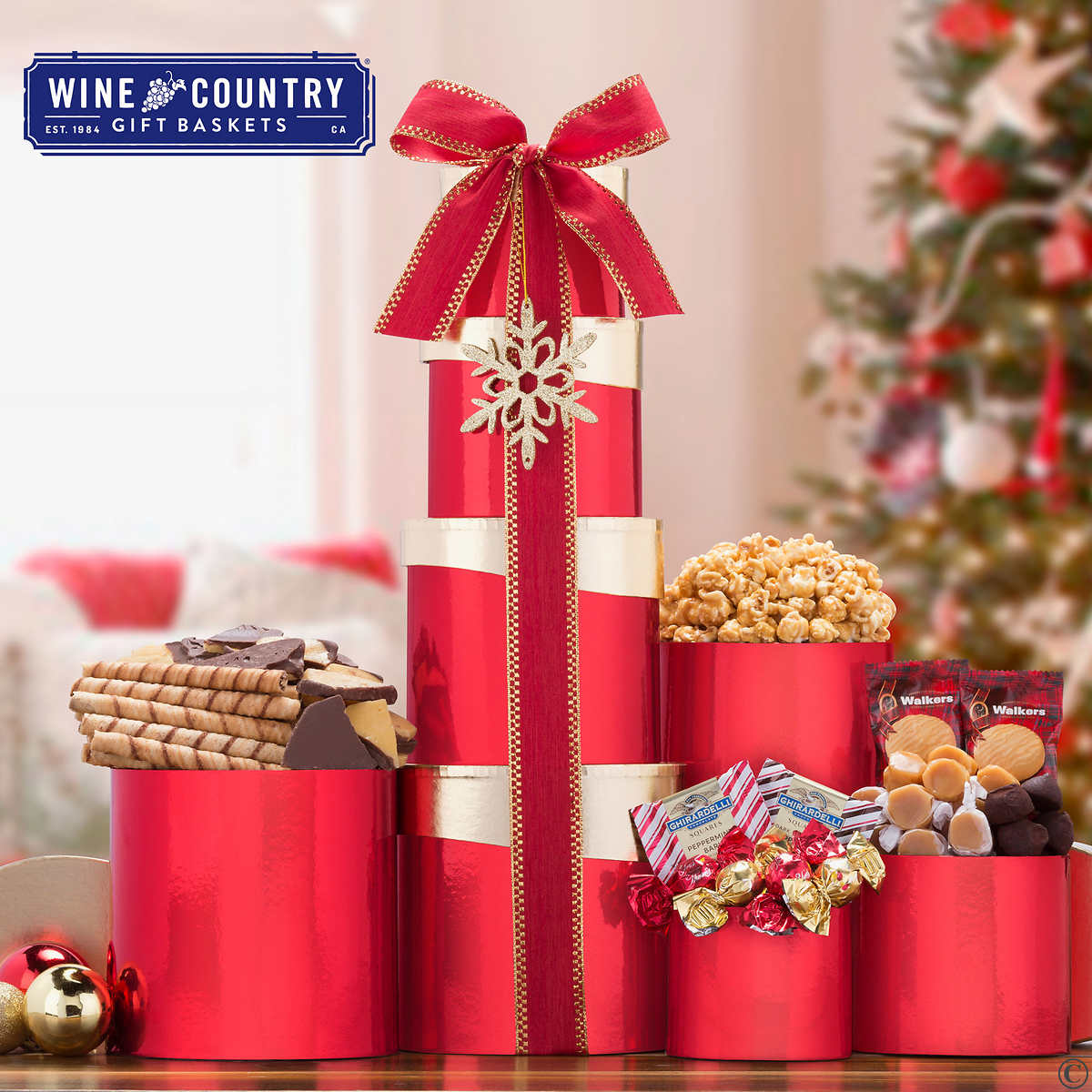 Seasons Greetings Holiday Gift Pallet 96 Count