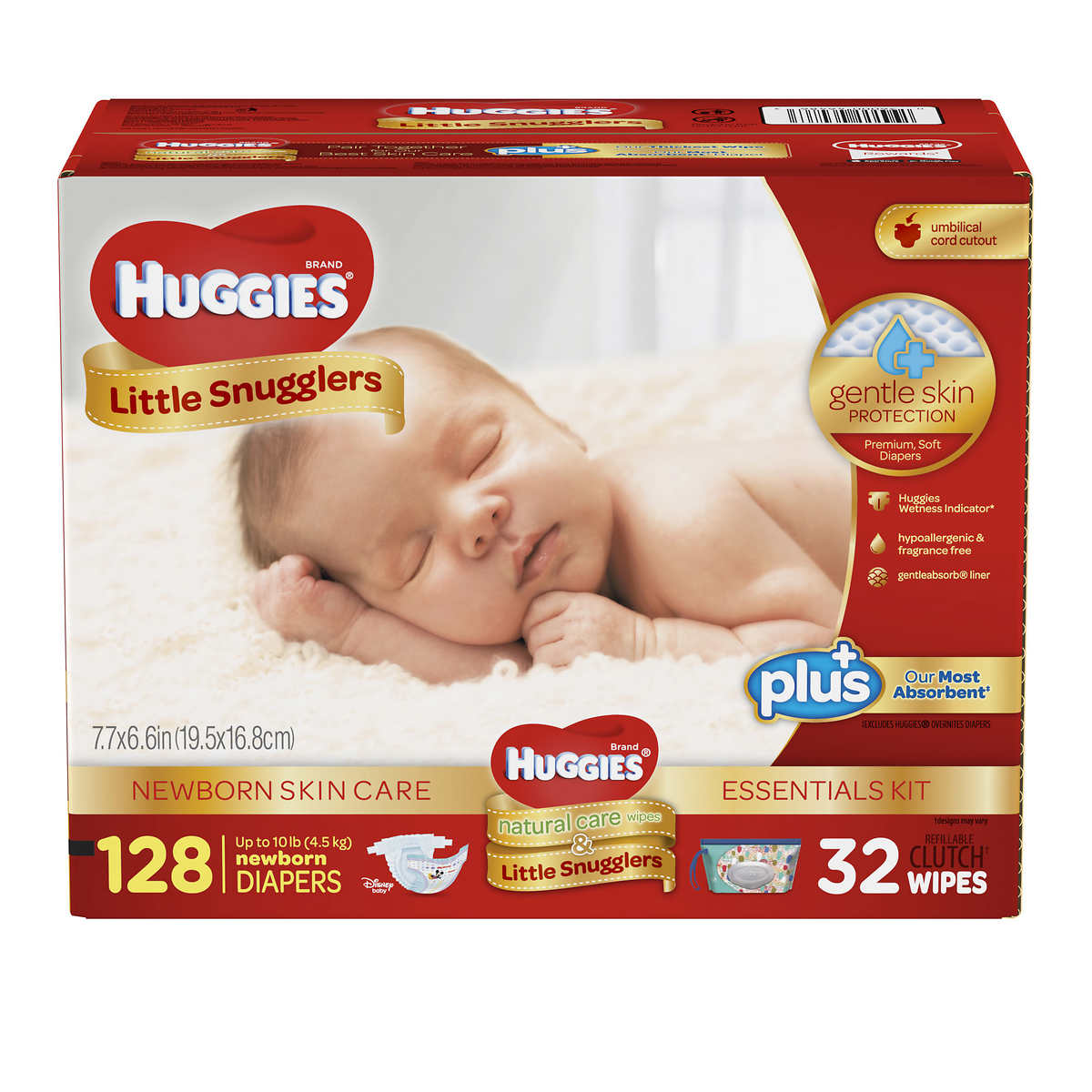 diapers wipes huggies little snugglers plus diapers new born skin care essentials kit