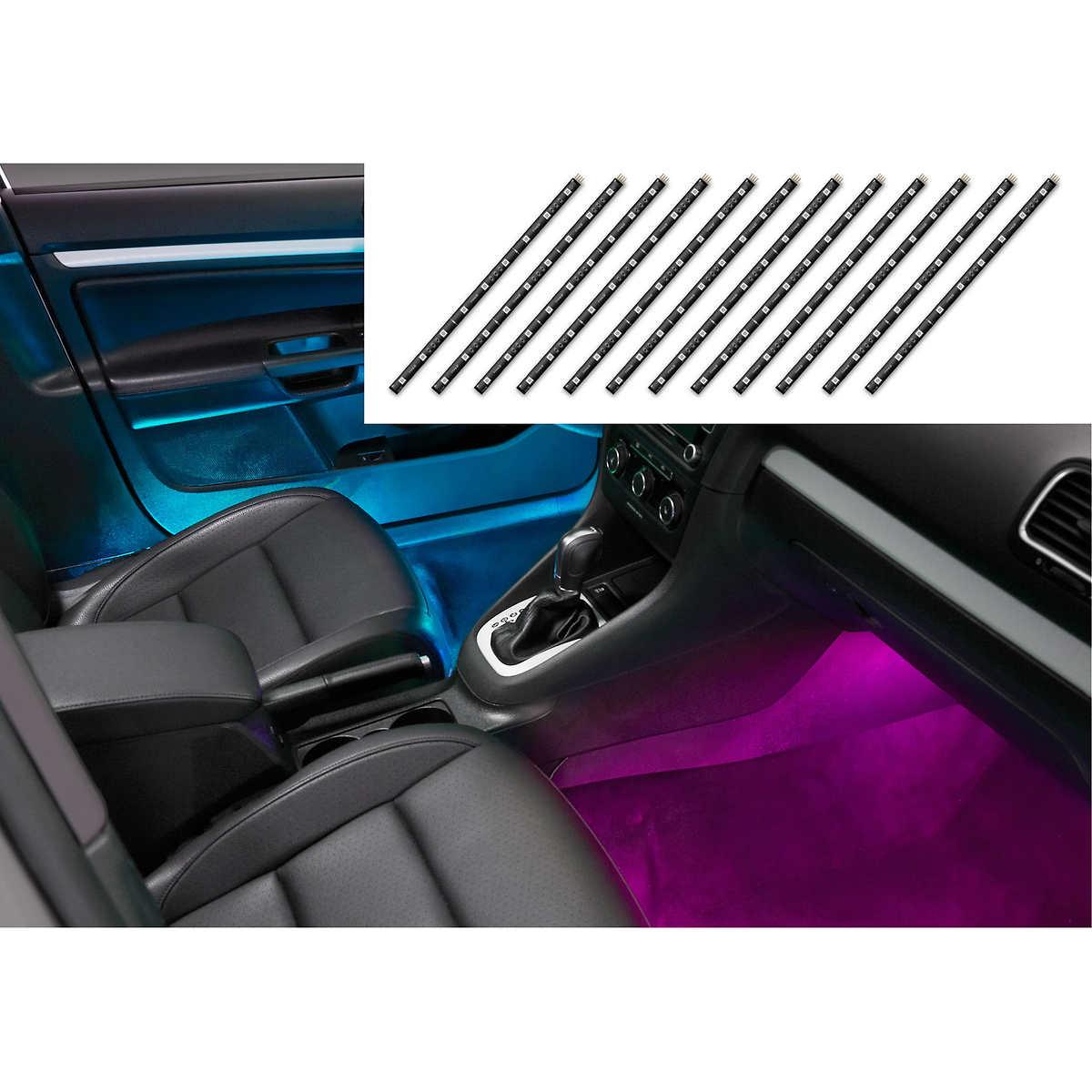 Weathertech mats costco - Smart Deluxe Plug Glow 12 Volt Multi Color Led Extension Strips 12 X
