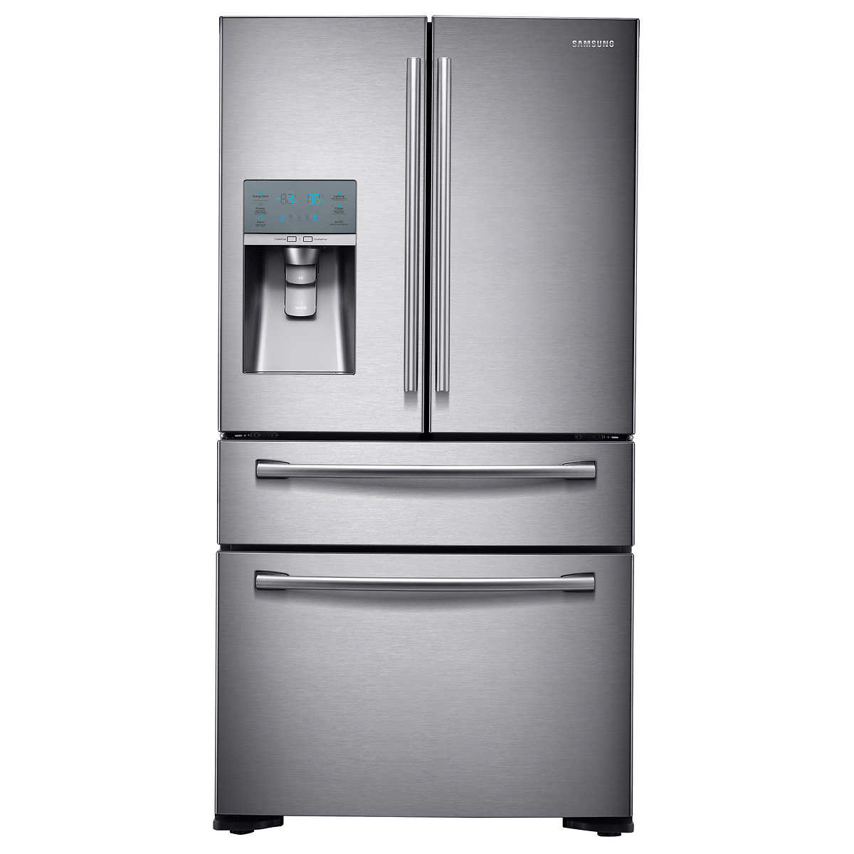 What Is The Depth Of A Counter Depth Refrigerator Samsung 23cuft 4 Door Counter Depth Refrigerator With Flexzone