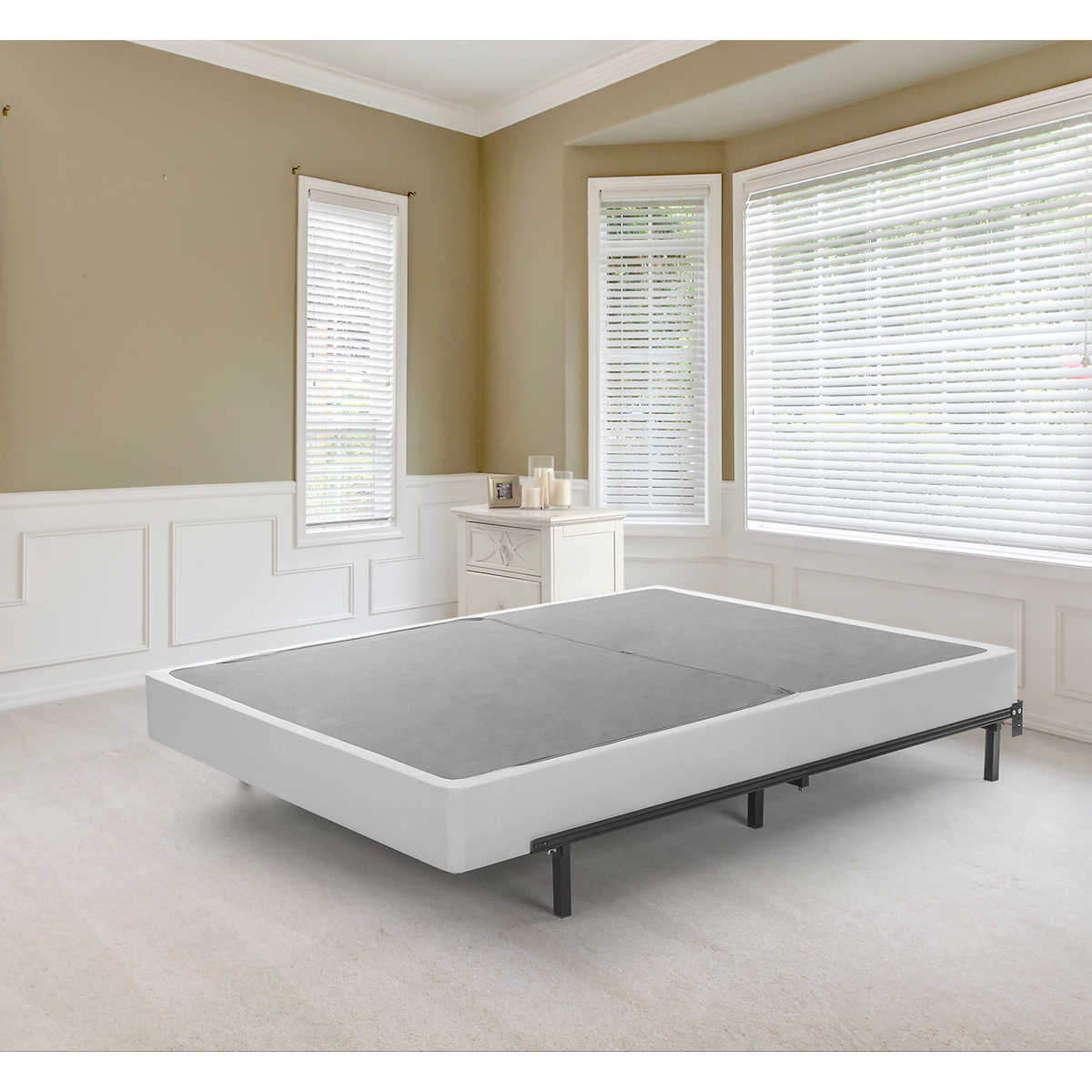 blackstone bifold 75 foundation king - Bed Frame For Boxspring And Mattress