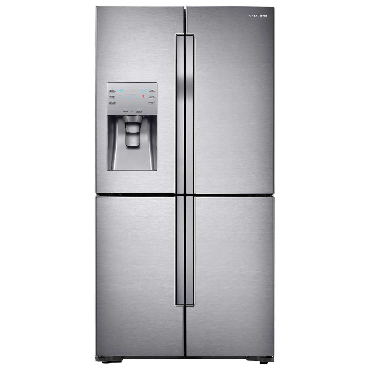 Samsung 23cuft 4 door flex counter depth refrigerator with 1 1 rubansaba