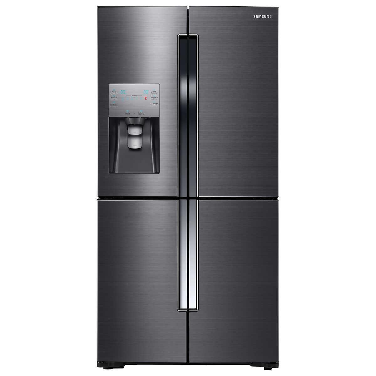 Counter Depth Refrig Samsung 23cuft 4 Door Flex Counter Depth Refrigerator With