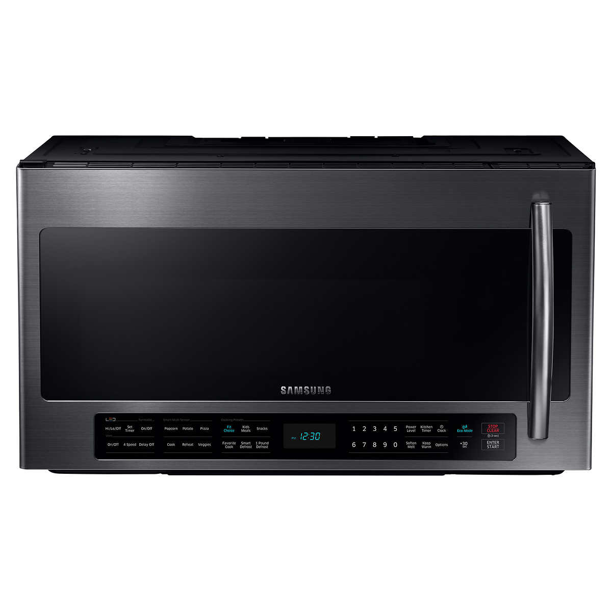Samsung 2 1cuft Over The Range Microwave With Multi Sensor Cooking In Black
