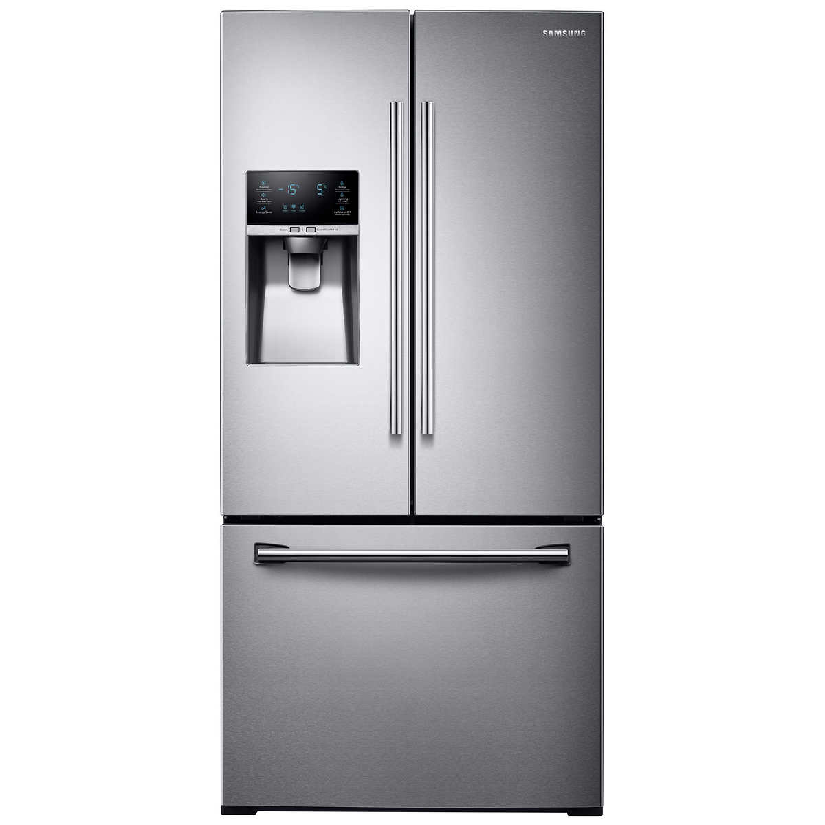Samsung 26cuft 33 3 Door French Door Refrigerator With Coolselect Pantry In Stainless Steel