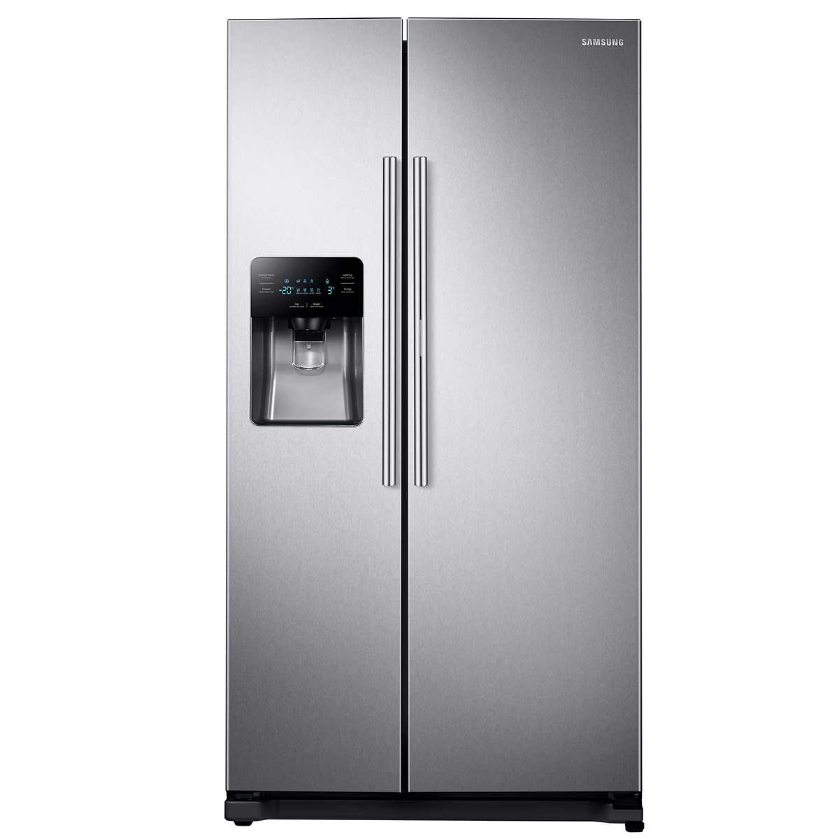 Side by side double oven cost - Samsung 24 7cuft Side By Side Food Showcase Refrigerator With Metal Cooling In Stainless