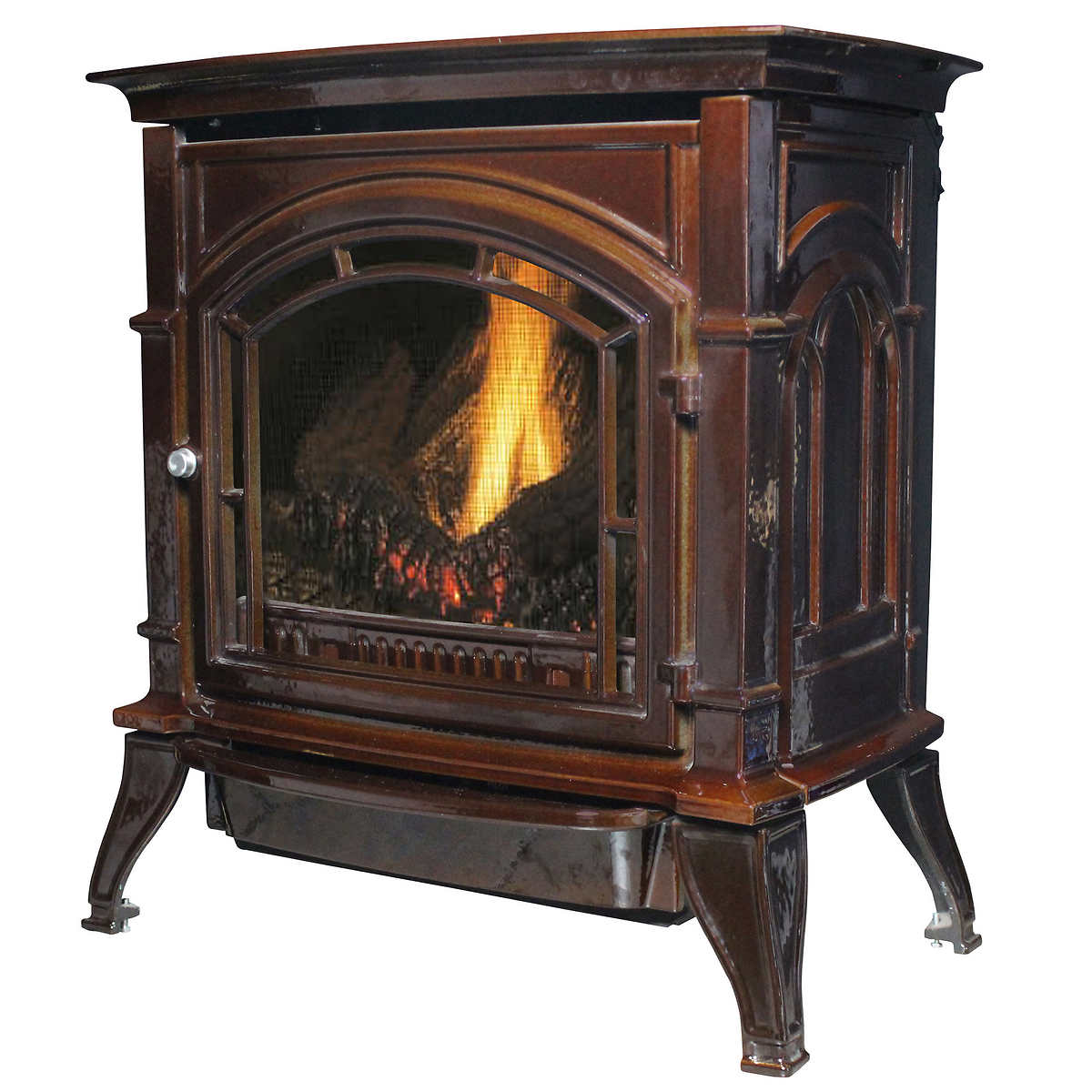 Fireplaces stoves accessories costco us stove ashley porcelain gas stove eventelaan Choice Image