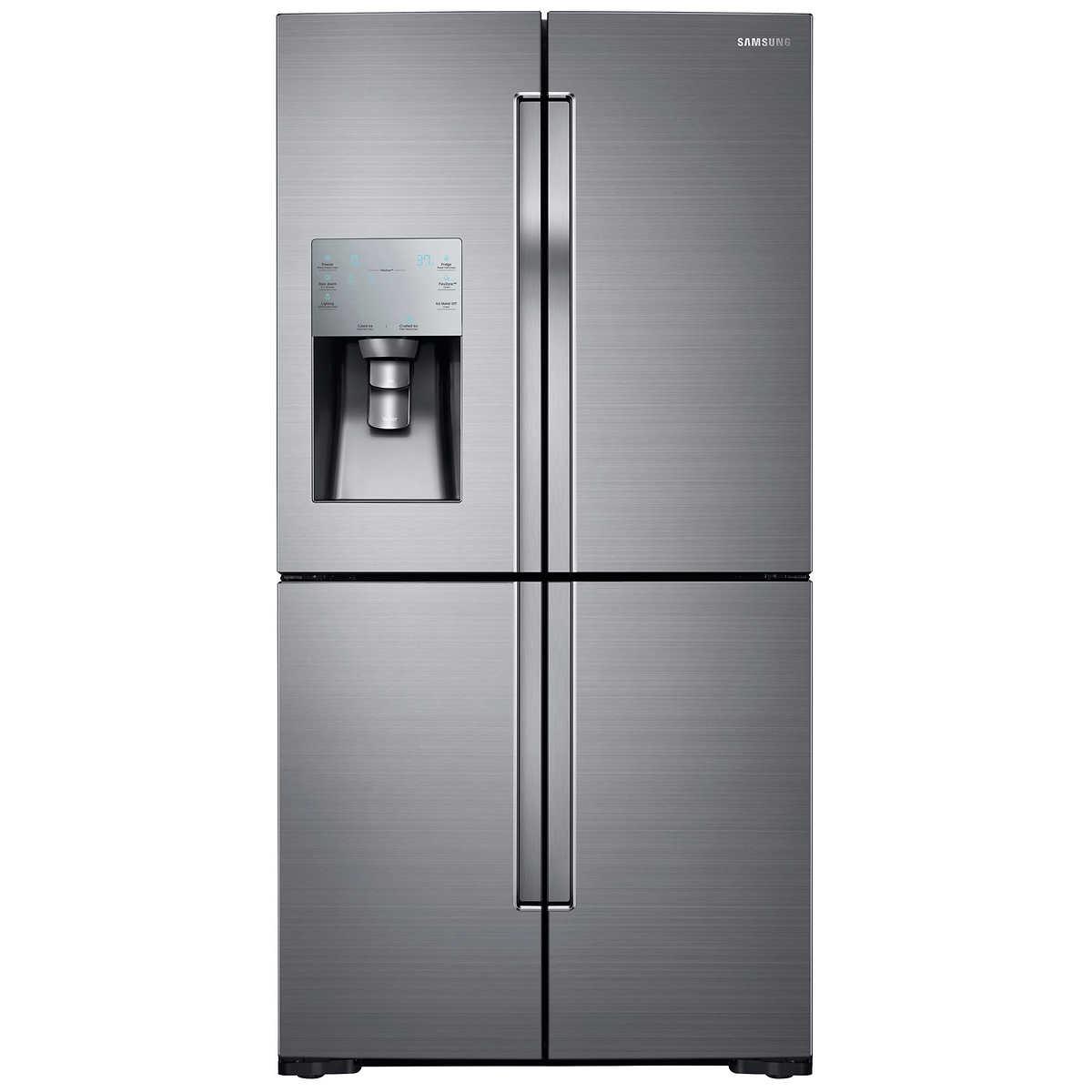 Stainless Steel Refridgerators Samsung 28cuft 4 Door French Door Refrigerator With Flexzone In