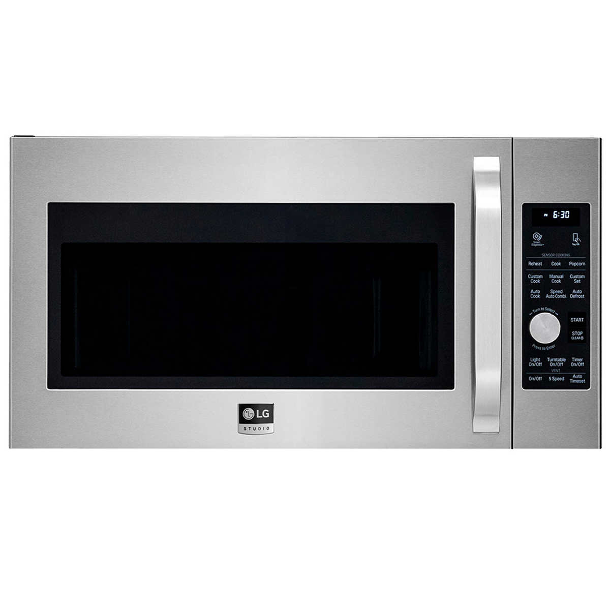 Whirlpool white ice microwave canada - Lg Studio 1 7cuft Over The Range Microwave Oven In Stainless Steel Lsmc3086st