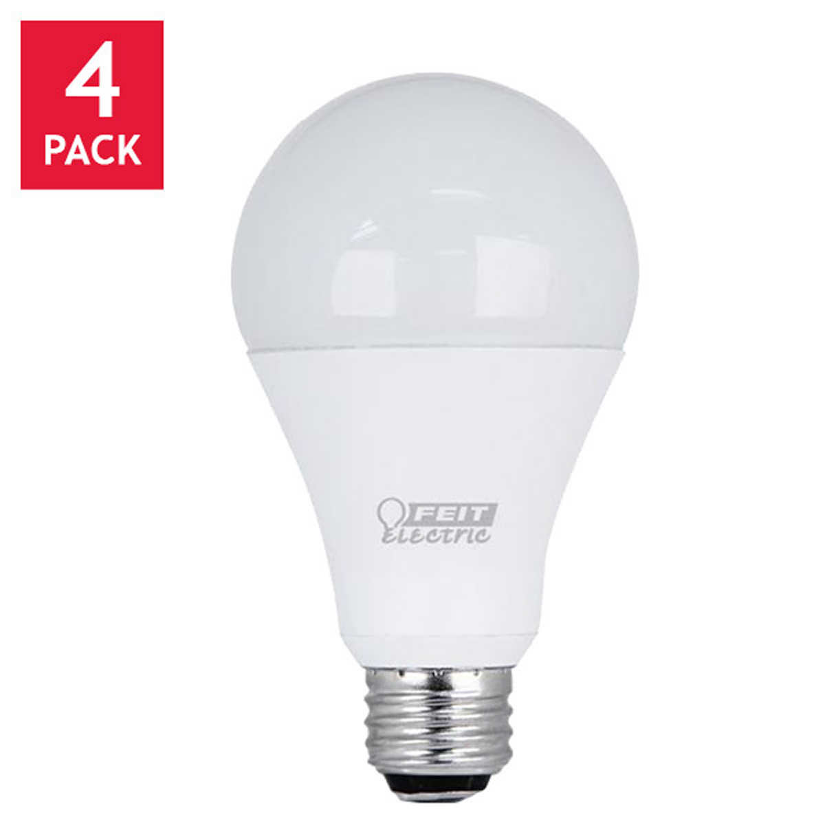 Led Lighting Bulbs: Feit LED 3-Way Bulb 50W/100W/150W Replacement 4-pack,Lighting