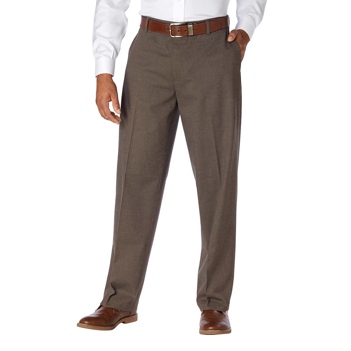 7ed9de05 Kirkland Signature Men's Non-Iron Comfort Pant