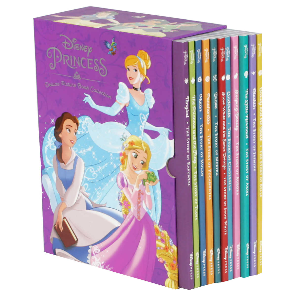 Princess coloring set - Disney Princess Deluxe Picture Book Collection 11 Book Box Set