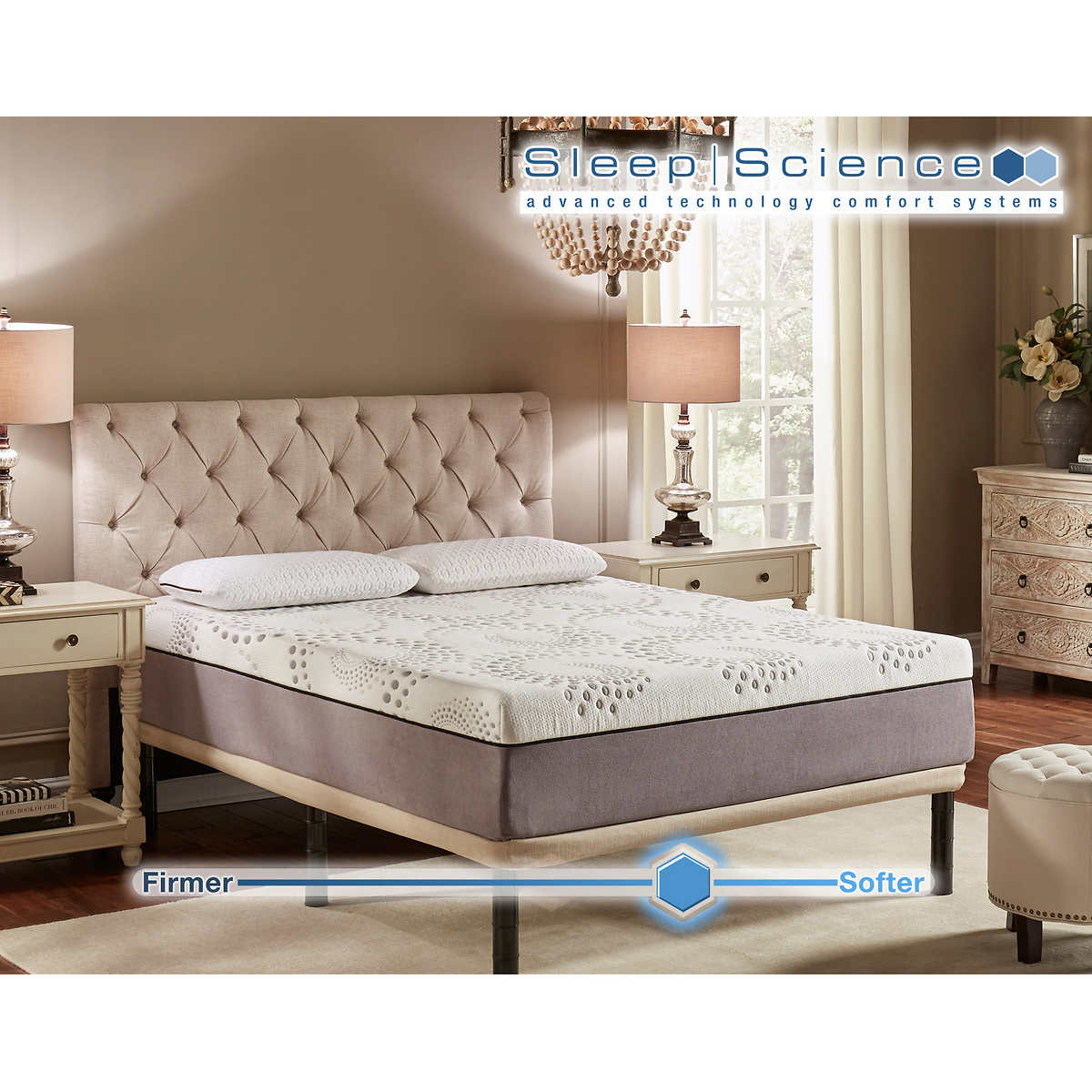 1 1 - California King Memory Foam Mattress