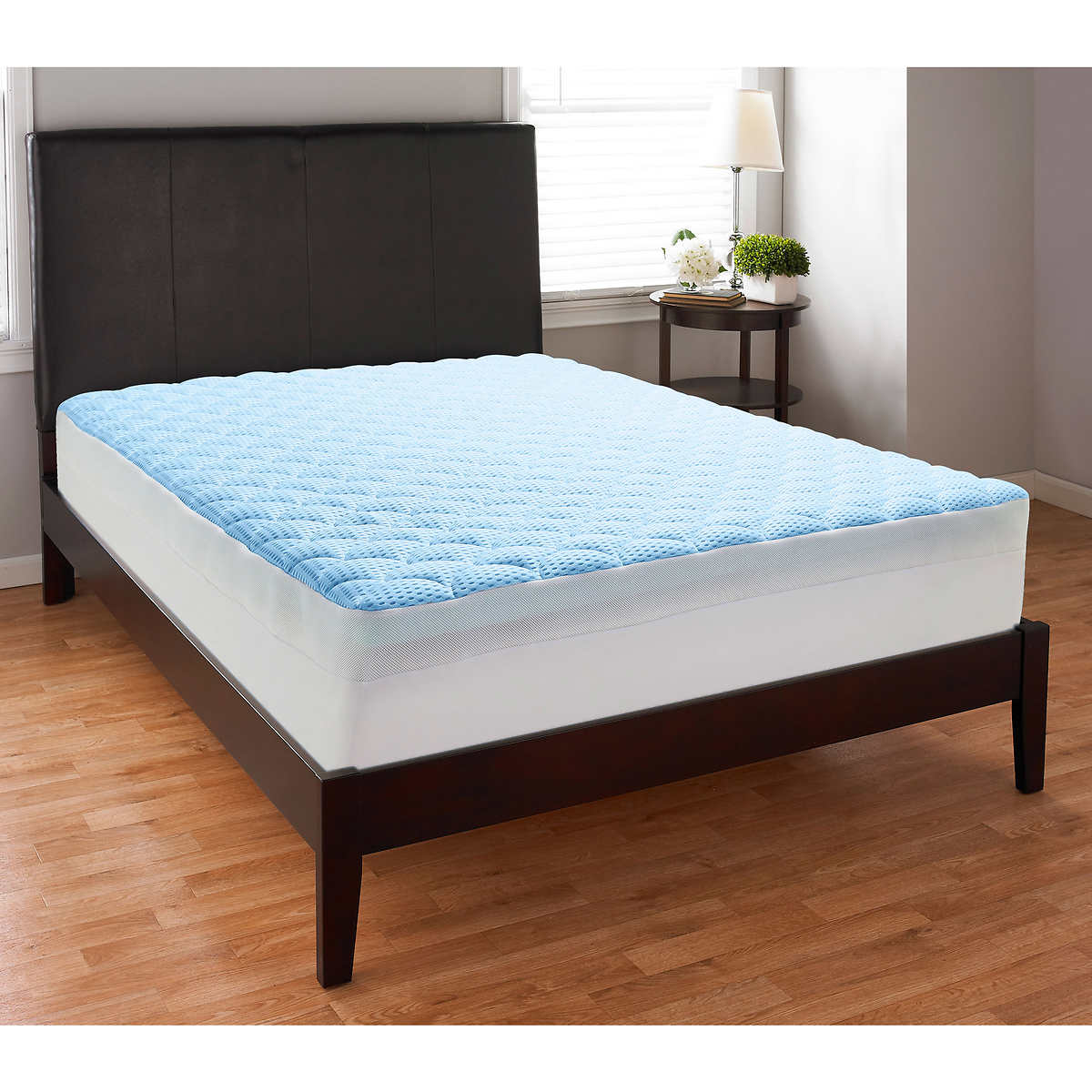 "TheraPure 3"" Memory Foam Mattress Topper with Cool Touch Cover"