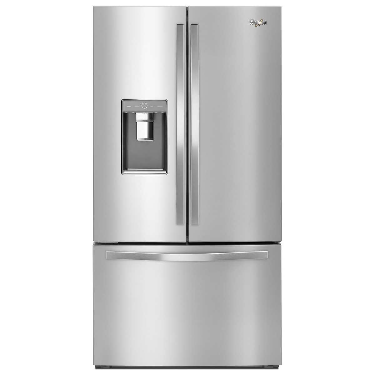 Whirlpool white ice appliances best buy - Whirlpool 32cuft 3 Door French Door Refrigerator With Infinity Slide Shelves In Stainless Steel