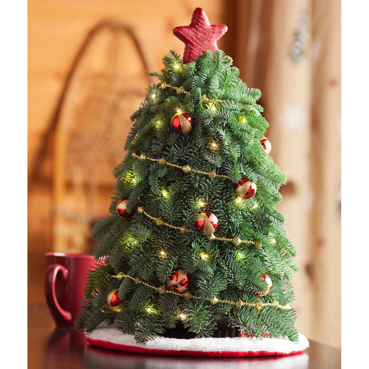 9' Artificial Pre Lit Christmas Tree - Best Deal On Pre Lit Christmas Trees