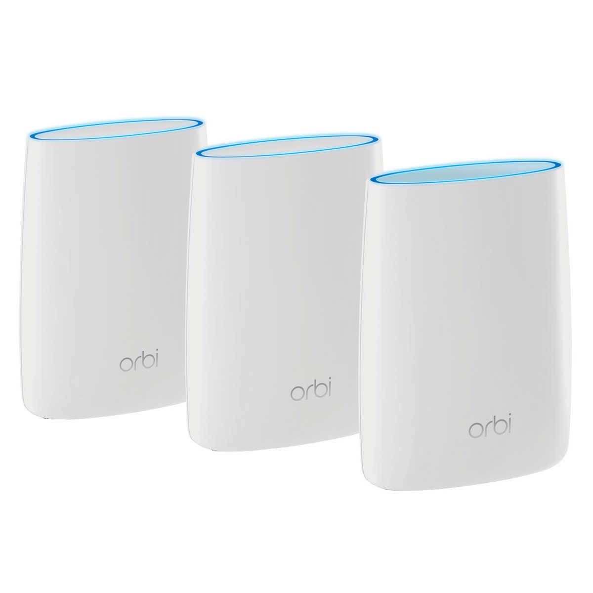 Netgear Orbi Ac3000 Tri Band Wifi System 3 Unit System