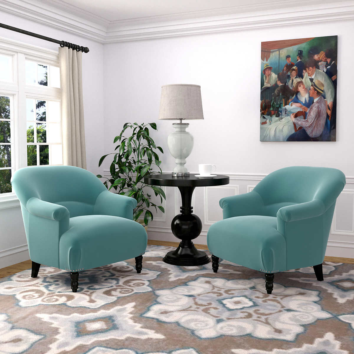 Turquoise Living Room Furniture Chairs Costco