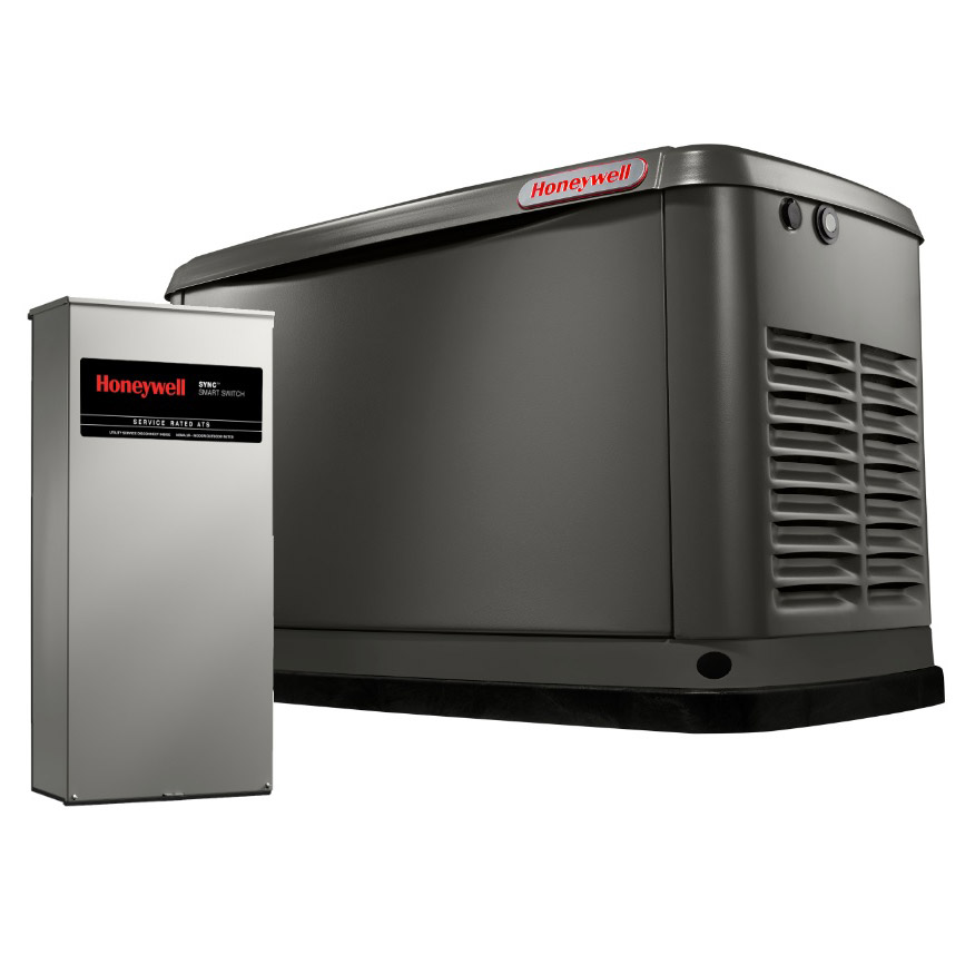 Honeywell Generator Wiring Diagram : Honeywell kw standby generator w transfer switch model
