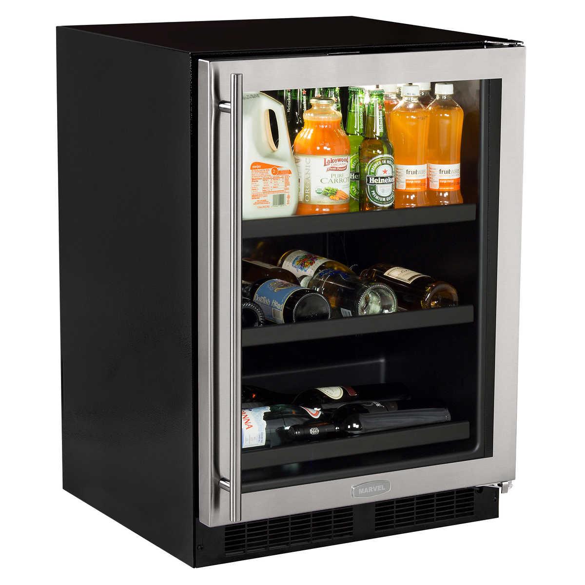 Undercounter Drink Refrigerator Wine Cellars Coolers Costco