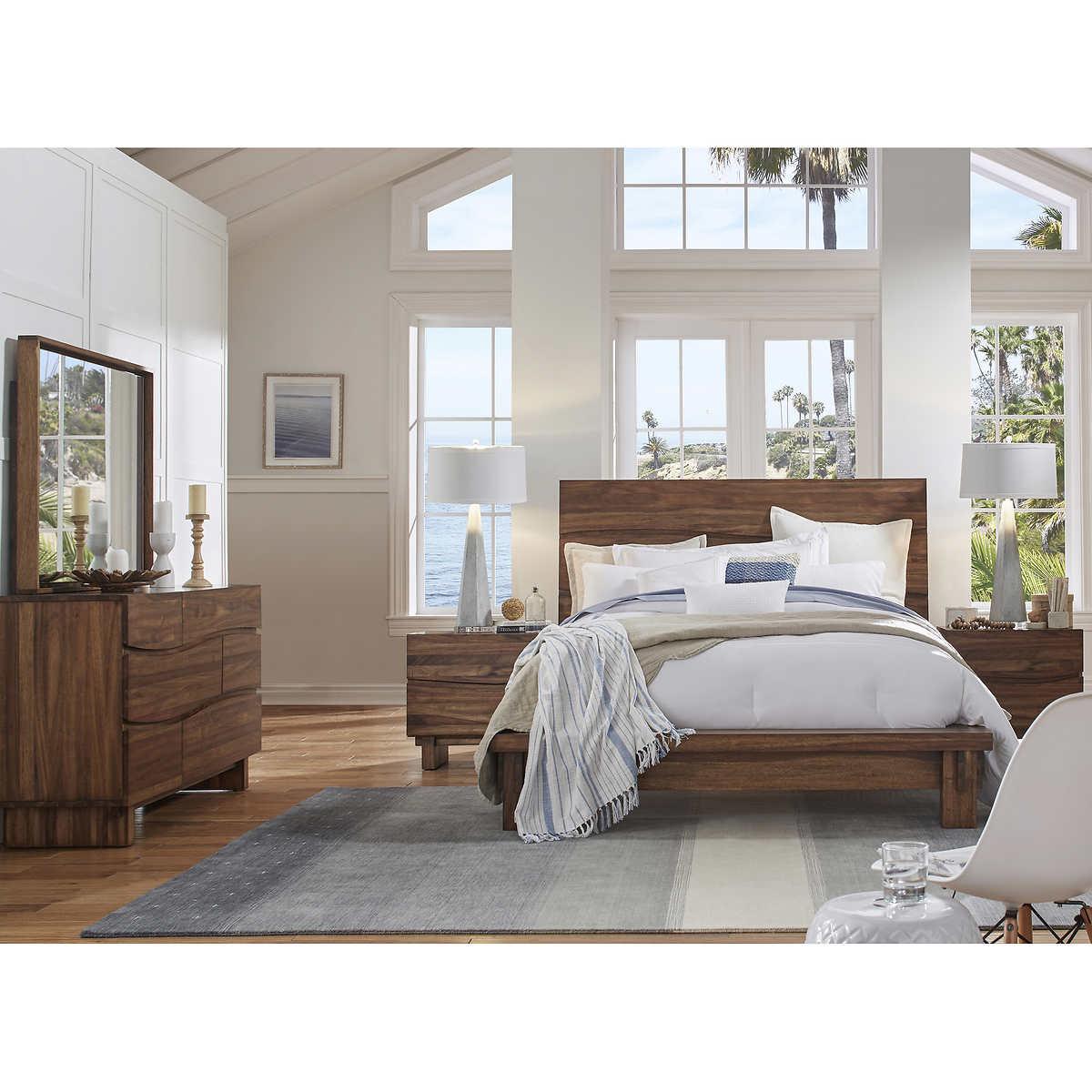 Bedroom Set With Desk Best Home Decorating Ideas