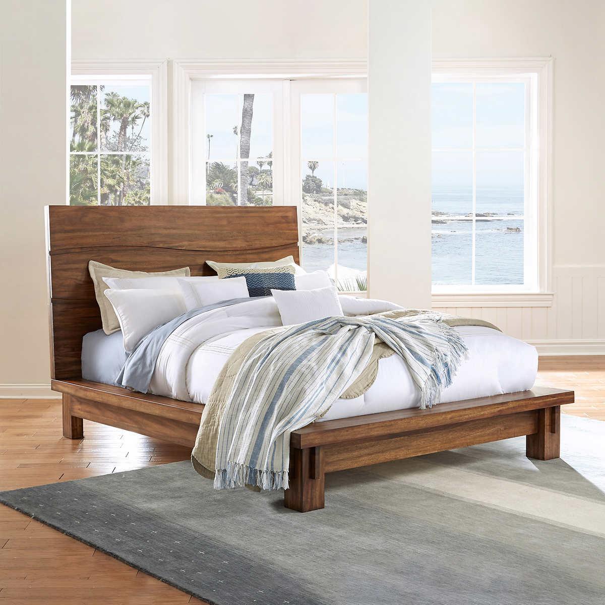 King bed frame wood - Rivina Cal King Bed