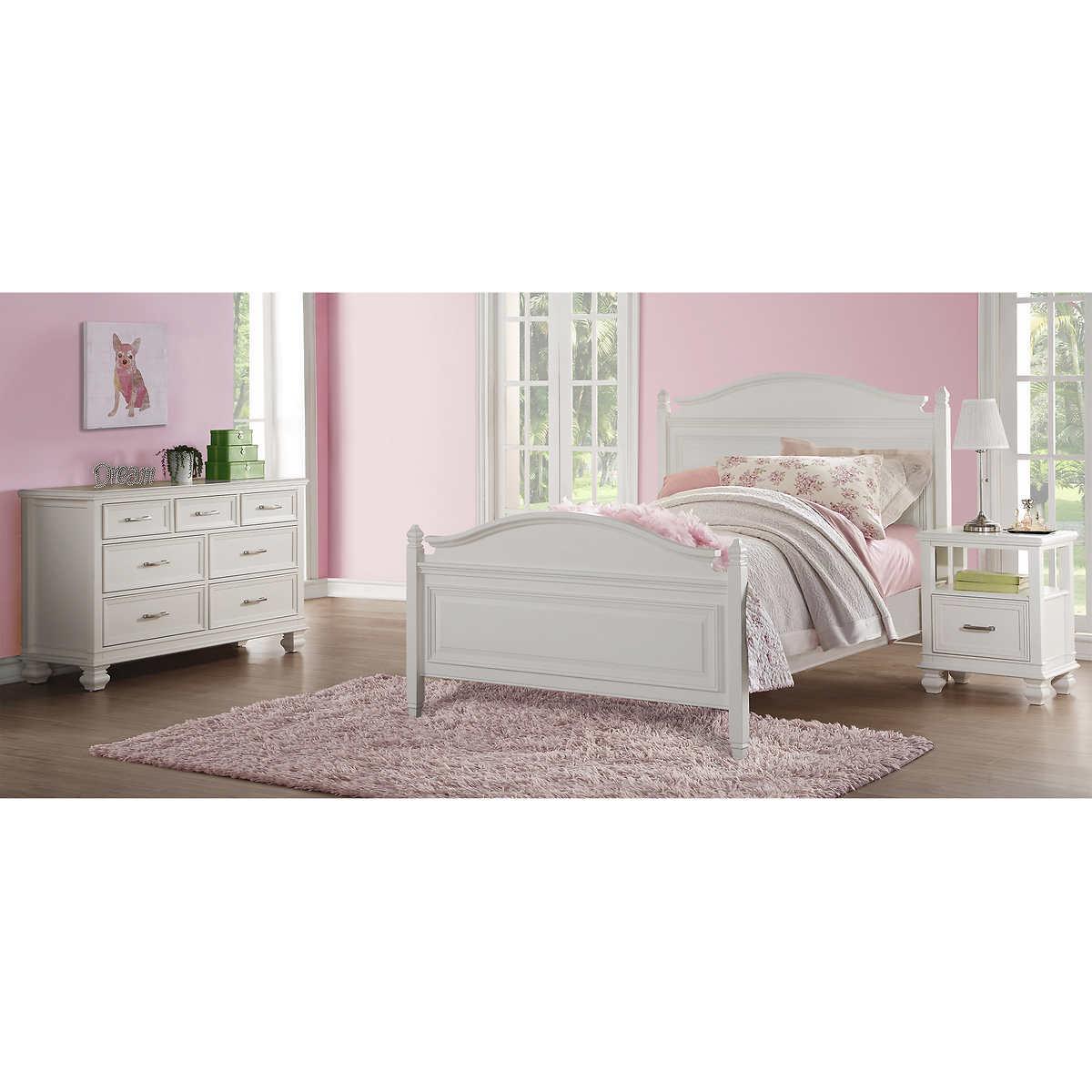 Bella 3-piece Full Bedroom Set