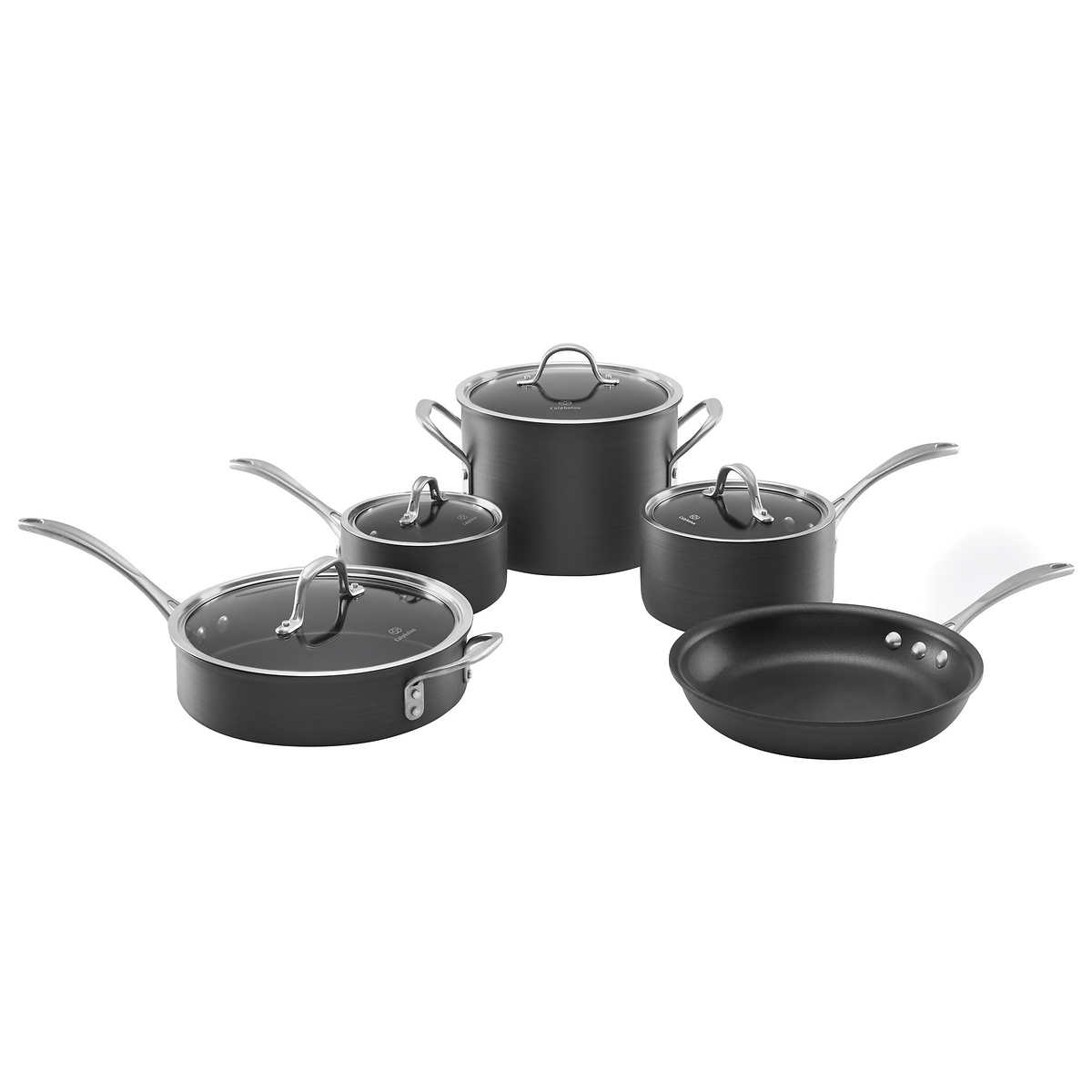 Calphalon 9 Piece Commercial Cookware Set Item 1083726 1