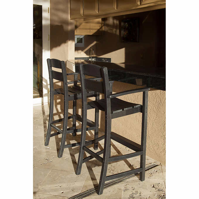 Clics Bar Arm Chairs By Ivy Terrace 2 Pack