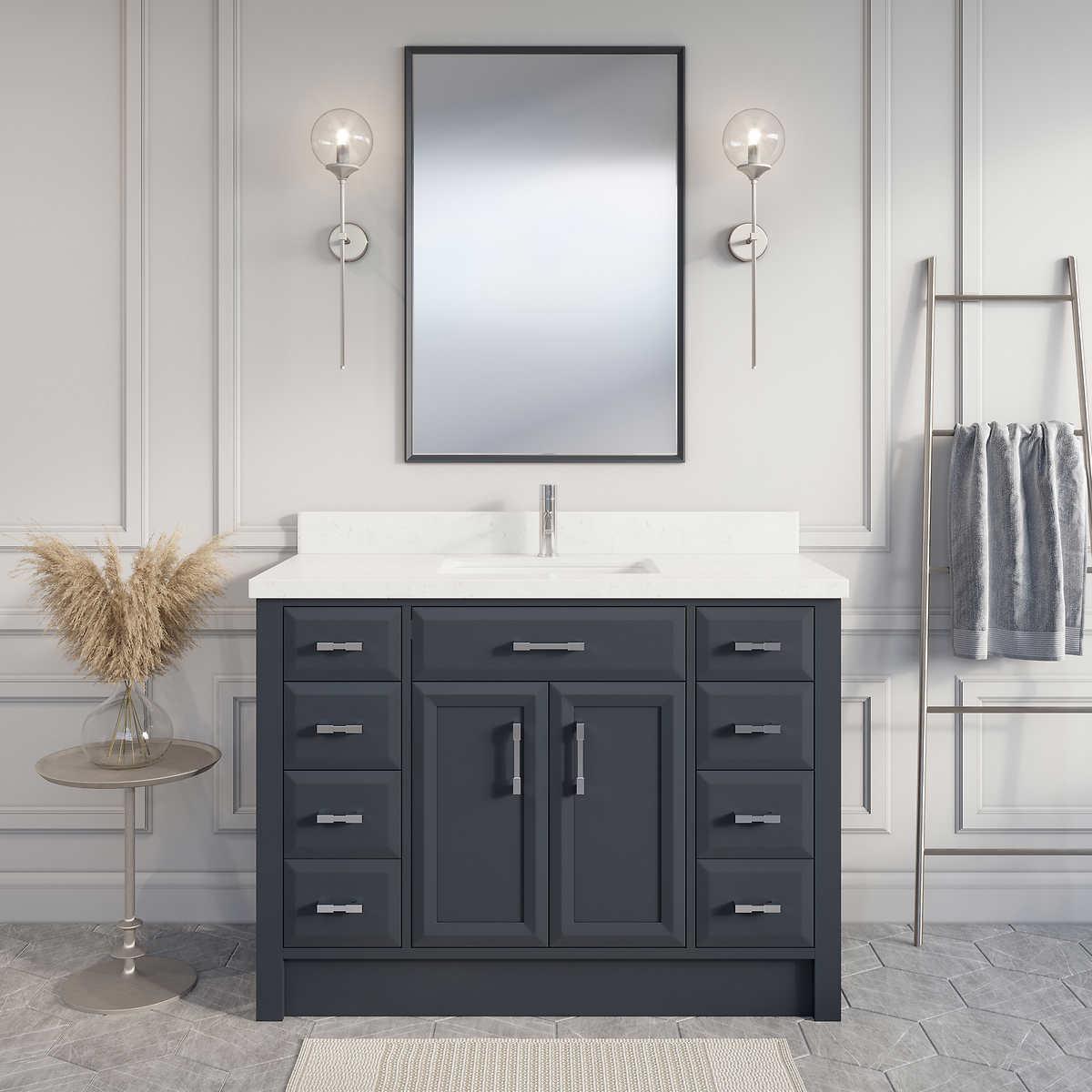 Single Sink Vanities Costco